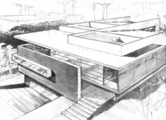 Architecture Design Drawing Sketch
