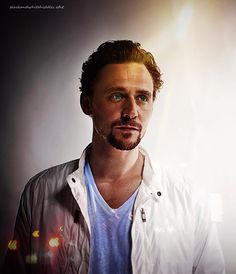 Tom with light shining down...Oh my! Are the Angels singing the Hallelujah Chorus???