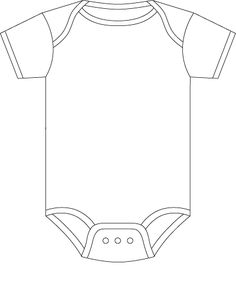 Onesie Figure Out How To Make The Detail Lines Sketch And Then Cut Outside