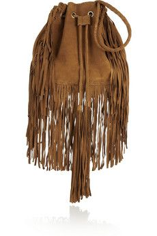 Antik Batik Bertil fringed suede shoulder bag | NET-A-PORTER