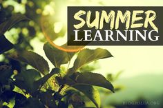 Summer Learning: Cooking, Cleaning, Fun   @HSLDA Blog