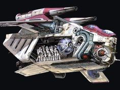 """Low Altitude Assault Transport (LAAT), also known as the LAAT-series gunship nicknamed """"Larties"""" by some clones, was a gunship series used by the Grand Army of the Republic during the Clone Wars. The series was produced by Rothana Heavy Engineering."""