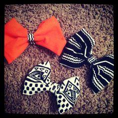 My DIY bows