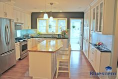 bright white clean kitchen design - Bluestem Construction Bluestemconstruction.com