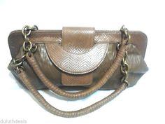 BCBG MAXAZARIA, Handbag, Satchel, Faux Leather  Purse #BCBGMAXAZARIA #ShoulderBag