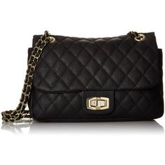 LuLu Claire Quilted Shoulder Bag