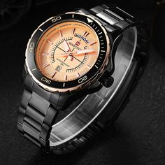 $39.98 (Buy here: https://alitems.com/g/1e8d114494ebda23ff8b16525dc3e8/?i=5&ulp=https%3A%2F%2Fwww.aliexpress.com%2Fitem%2FNAVIFORCE-Men-Military-Quartz-Watches-Sport-Date-Steel-Waterproof-Casual-Brand-Ristwatch-Relogio-Masculino-Fashion-Watches%2F32692467887.html ) NAVIFORCE Relogio Masculino Men Military Quartz Watches Sport Date Steel Waterproof Casual Brand Wristwatch Fashion Watches LX19 for just $39.98