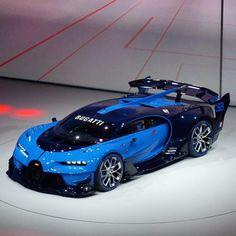 Wow The Bugatti Vision Gran Turismo Lives - pic via Bugatti Veyron, Bugatti Cars, Audi, Porsche, Maserati, Ferrari F40, Lamborghini Gallardo, Supercars, Pt Cruiser