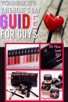 Younique Valentines Day Guide for the guys!!