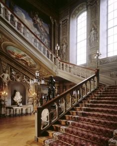 Versailles to Victoria: Cau of the day: Tring Park | hall ...