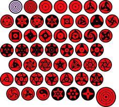 Variations eyes in Naruto Naruto Shippuden Sasuke, Naruto Eyes, Naruto Sasuke Sakura, Wallpaper Naruto Shippuden, Sarada Uchiha, Naruto Art, Anime Naruto, Mangekyou Sharingan, Rinne Sharingan
