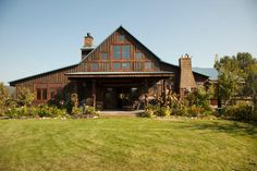 Barns aren't just for farm animals anymore. These days, barns are almost unrecognizable as private residences, businesses and more. We rounded up some beautiful barns that have been transformed into functional, modern homes.