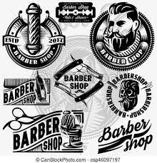Resultado De Imagen Para Barberia Vectores Para Dibujar Coiffeur Barbier Peinture Coiffure Homme
