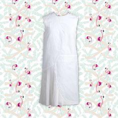 "Robe ""Felicia"", Gauchere #TheWebsterXLeBonMarche #WHITE #FASHION #MODE"