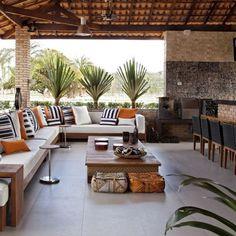 AREA GOURMET #fazenda #riodejaneiro  By @leoshehtman  #beautiful#details#decor#decoration#idea#farm#countryhouse#stone#furniture#madeira#wood#brick#homestyle#instadecor#instagood#interiordesign#sandecor