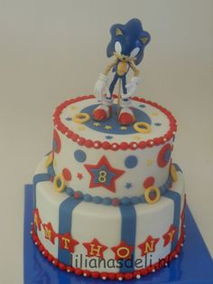 Pretty Photo Of Sonic Birthday Cake Shake Karver In 2018