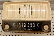 Ge General Electric 136 Kc Am Rádio De Tubo