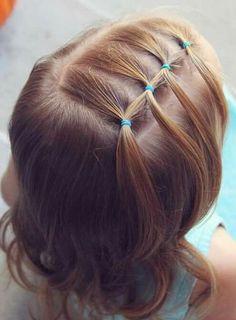 Peinados De Nina Con Ligas Tendencia Infantil En Peinados Para Toda