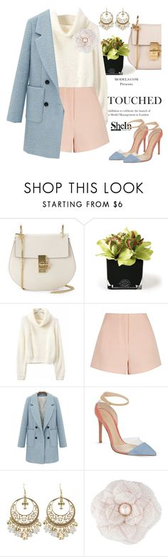"""""""California calling"""" by pensivepeacock ❤ liked on Polyvore featuring Chloé, Hervé Gambs, Finders Keepers, Gianvito Rossi and Chanel"""
