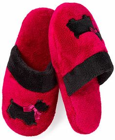 Charter Club Applique Slippers