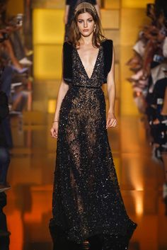 Just can't get enough of these stunning sparklers from Elie Saab's haute couture collection. ELIE SAAB HAUTE COUTURE FALL-...