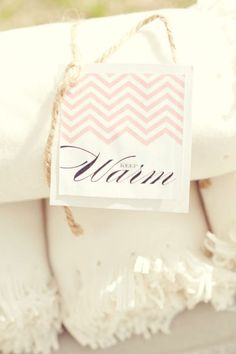 Blanket Favors // The Nichols Photography
