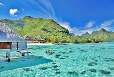A 7 Night Getaway To The Legendary Tropical Islands Of Moorea And Bora Amidst