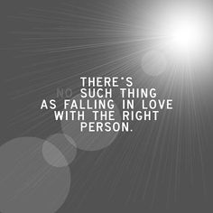 (No) such thing as falling in <3...