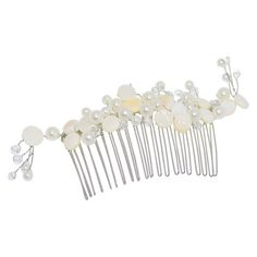 Women's Riviera® Comb with Simulated Pearls - Ivory