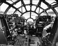 B-29 Flight Deck