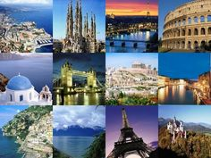 Image result for europe tour collage