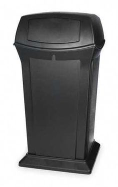 32 Gallon Outdoor Metal Trash Receptacle Metal Trash Cans
