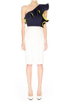 Cameo   Acoustic Skirt   White   Shop Now   BNKR