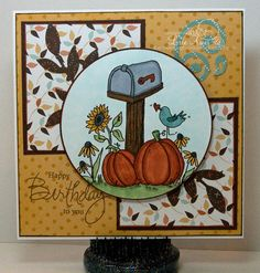 Fall Mailbox by Lorie