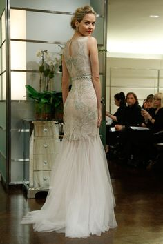 Badgley Mischka – Bridal Fall 2013