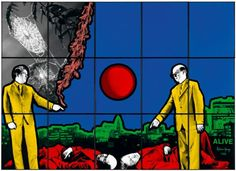Alive - Gilbert and George 1983 Gilbert & George, Pop Art, Contemporary Art, Pictures, Painting, Holland, Photographers, Photos, The Nederlands