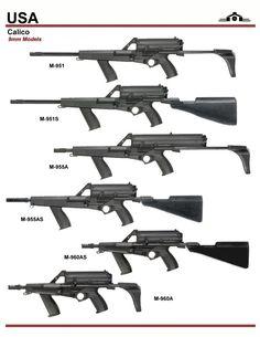 Calico 9mm Series