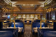 There are almost too many places to eat in Soho. Here are our pick of the best restaurants to hit up in London's greatest neighbourhood. Luxury Restaurant, Restaurant Interior Design, Restaurant Ideas, Restaurant Booth, Romantic Dates, Most Romantic, Bob Bob Ricard London, Dating In London, Dining Room Blue