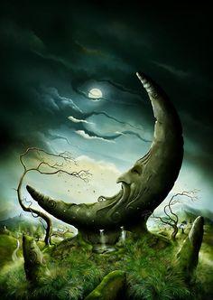 Moon Stone by John E Shannon   DecalGirl