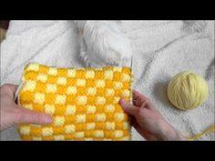 Pantoufles modèle grains de maïs tutoriel Slippers knitting tutorial, My Crafts and DIY Projects