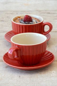 Mynte Stoneware by Ib Laursen, moccacups in Strawberry...