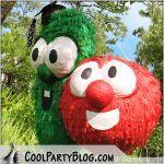Waanttt so bad! 3rd Birthday Parties, Birthday Bash, Birthday Presents, Birthday Ideas, Veggie Tales Birthday, Veggie Tales Party, Veggietales, Pirate Party, Party Time