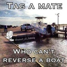 Tag your friends to who can't reverse a boat 😂😂😂it isn't that hard tho 😏😂😂😂😂🐟Like and share this with your friends! 😊🐟🎣 #fishingplace #fishing #fishermen #weekend #fishingplacecom #boat #reverse #fish #fishingmen #fishing #flyfishing #fishinglife #fishingtrip #fishingboat #troutfishing #sportfishing #fishingislife #fishingpicoftheday #fishingdaily #riverfishing #freshwaterfishing #offshorefishing #deepseafishing #fishingaddict #lurefishing #lovefishing #fishingboats #instafishing