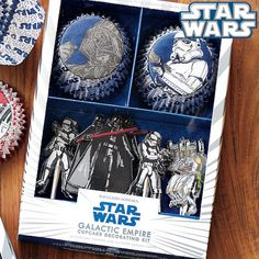 Star Wars Cupcake Decorating Kit Galactic Empire #williamssonoma