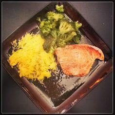pork chop, broc and squash pasta