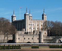 Torre de Londres, Inglaterra.