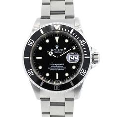Rolex 16610 Submariner Steel Black Dial Watch. Get the lowest price on Rolex 16610 Submariner Steel Black Dial Watch and other fabulous designer clothing and accessories! Shop Tradesy now