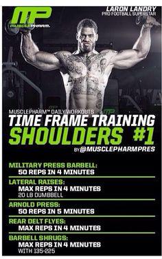 Time frame training shoulders 1
