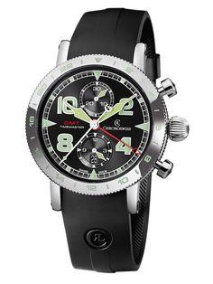Chronoswiss | Timemaster Chronograph GMT | Edelstahl | Uhren-Datenbank watchtime.net