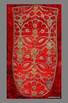 Panel Date: ca. 1500 Culture: Italian (Venice) Medium: Silk Accession Number: 46.109.23
